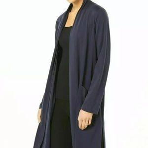 Eileen Fisher Fluid Tencel Knit Open cardigan top